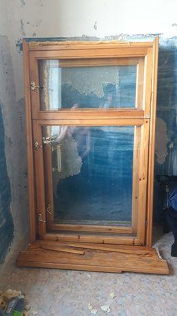 Окно деревянное двойное