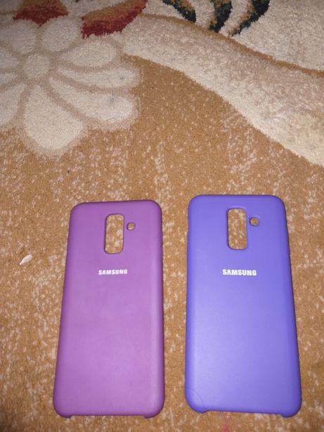 2 Оригинальних Чехла на Samsung A6+