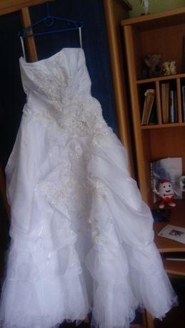 Продам весільну сукню, білого кольору.(42-46)