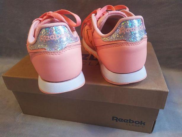 Adidasy REEBOK Classic Skórzane Pastelowe Pastel Różowe roz. 36