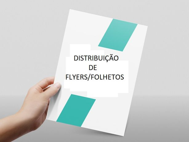 Distribuição de folhetos/flyers