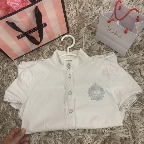 Biała Koszula Konkursowa Pikeur