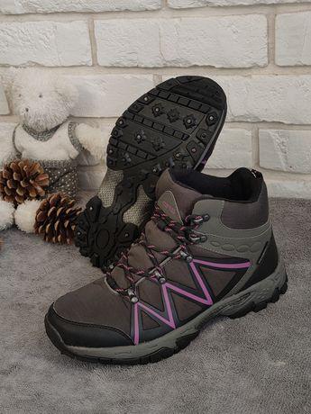 Buty turystyczne trekkingowe z kolcami Ice tech wodoodporne r. 41 26,5