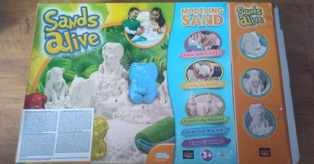Zestaw kreatywny piaskolina + Moon Dough