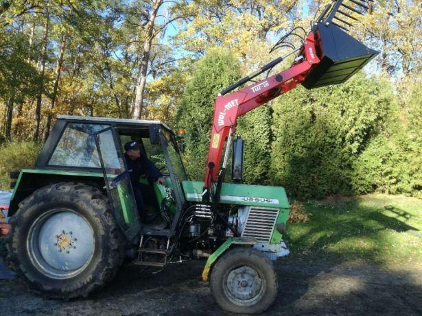 Ursus C385 MTZ Hit WOL-MET 800kg Montaż Dowóz ładowacz czołowy tur