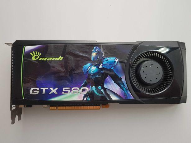 Karta graficzna GTX 580