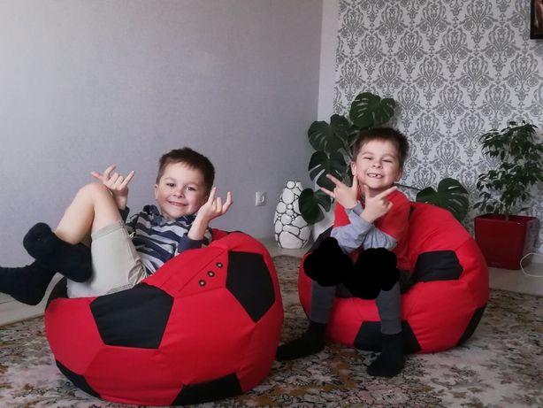 Кресло мешок Мяч Груша.Бескаркасный мягкий Пуф 60 см детям и подростка