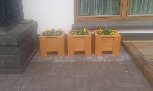 Donica/Doniczka drewniana/kratka/skrzynia na warzywa/