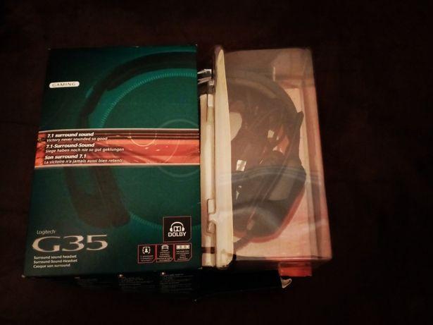 Headset Logitech G35 7.1 Surround - C/Novos (Usados 3x)