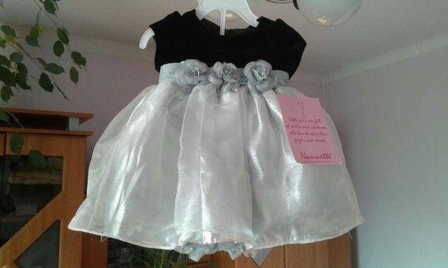 Sukieneczka dla dziewczynki-rozmiar 74.