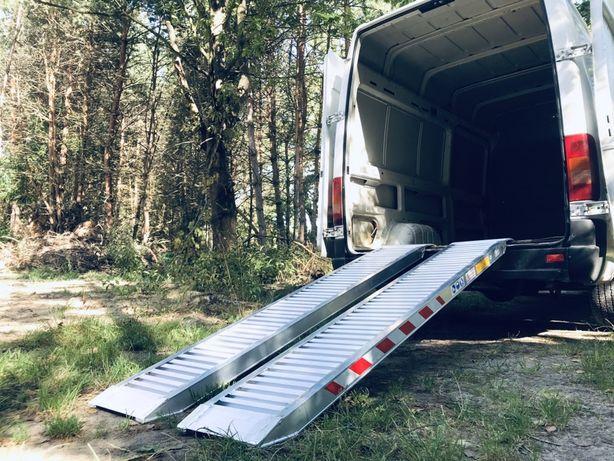 Najazdy Aluminiowe / BUS / *do 3T *2.5m *35Kg Para / TUV / F.VAT