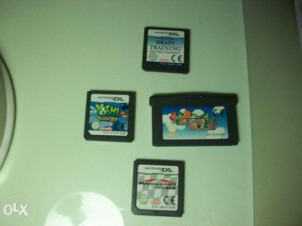 Jogos Nintendo DS como novos