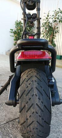 Troco trotinete elétrica Kaabo Wolf Warrior Pro por mota cross enduro