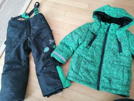 Zestaw komplet zimowy kurtka plus spodnie