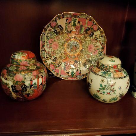 Várias peças de decoração