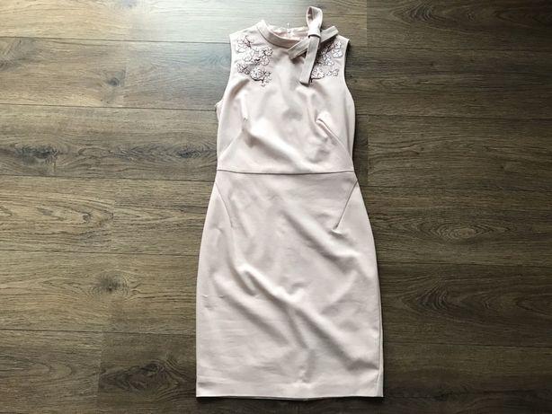 Sukienka Orsay mini pudrowy róż 36 38
