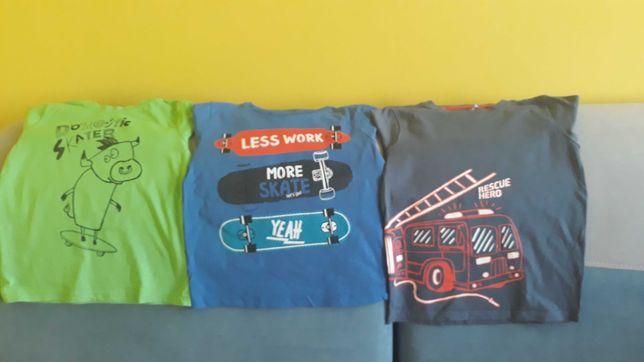 Bluzki i spodnie dla chlopca +darmowa wysylka