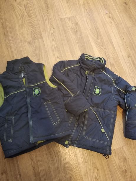 Куртка жилетка 2в 1 Donilo 125-134