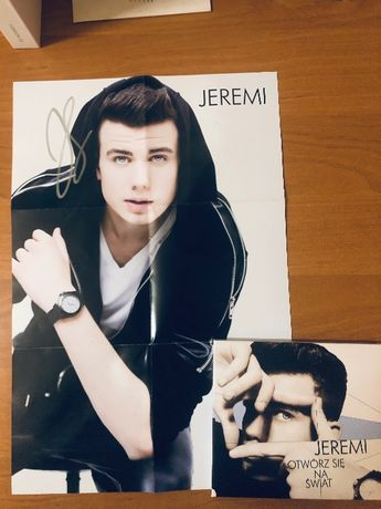 Płyta Jeremiego Sikorskiego z autografami