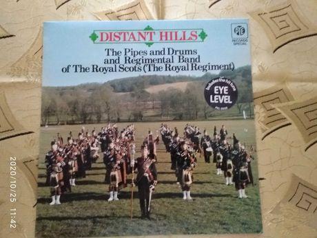 Płyta winylowa orkiestra wojskowa Szkocja