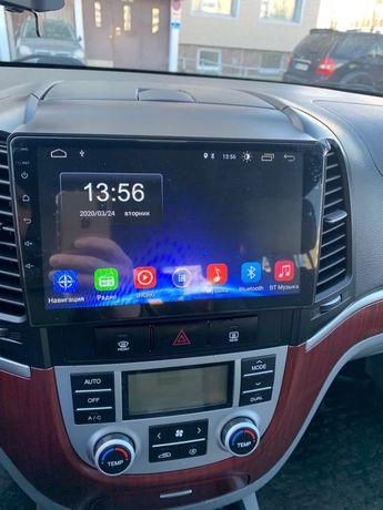 Автомагнитола Hyundai santa fe 2006-2012 на ос android 8