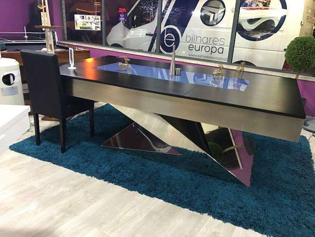 Bilhar Europa fabricante mod Zen Luxury oferta tampo jantar
