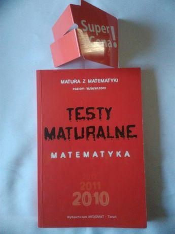 """książka """"matura z matematyki 2010 testy maturalne"""" poziom rozszerzony"""