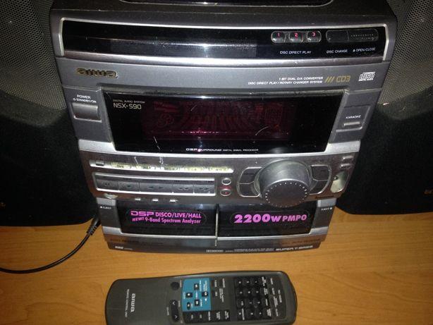 Очень мощный Музыкальный центр AIWA NSX-S90