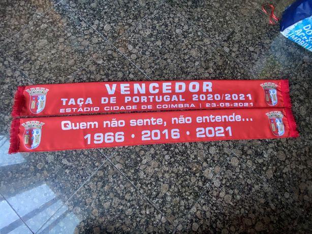 Cachecol SC Braga Vencedor Taça de Portugal