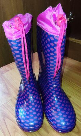 Гумові чоботи для дівчинки