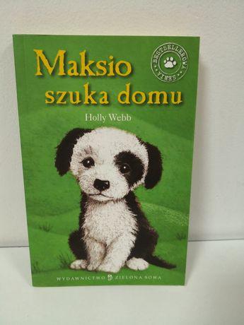 Książka Maksio szuka domu