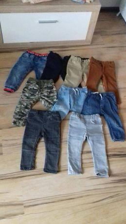 spodnie chłopięce h&m 86/92