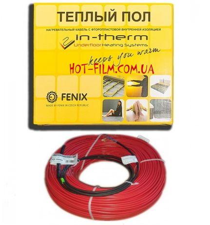 Электрический теплый пол Нагревательный кабель Fenix in-therm eco