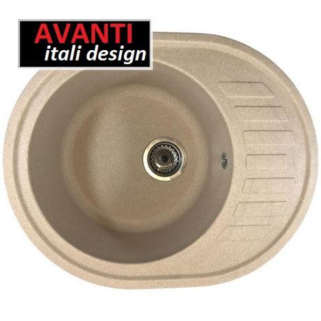 Хит продаж!Мойка для кухни из гранита Avanti 620 все цвета!