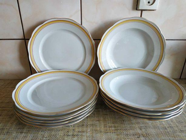 Sprzedam zestaw obiadowy antyk PRL porcelana KPM made in Poland