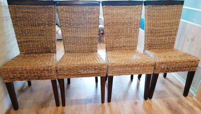 Komplet krzeseł 4sztuki w super cenie