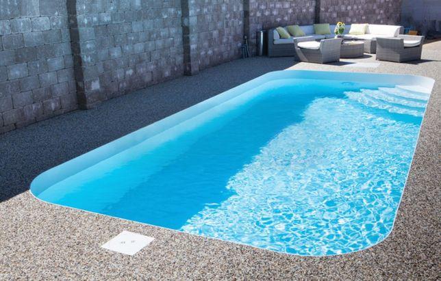 Будівництво басейну в Закарпатті. Поліпропіленові басейни з виробництв