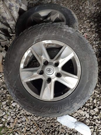 Колеса Bridgestone літо 285/60 r18