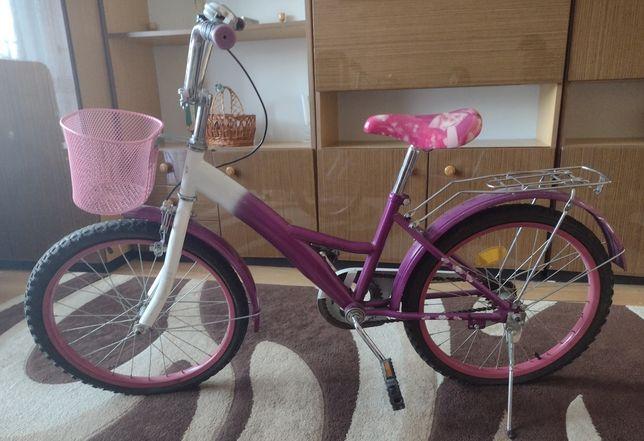 Rower miejski dla dziewczynki