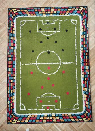 Dywan 120x170 piłkarski  Mecz piłka nożna dla chłopca