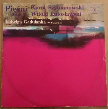 Szymanowski/Lutosławski - Pieśni (Gadulanka, Marchwiński) (LP, winyl)