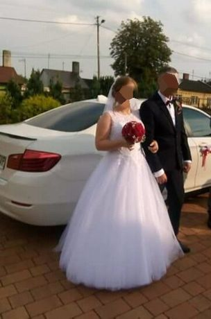 Suknia ślubna na 155cm + obcas 6 cm