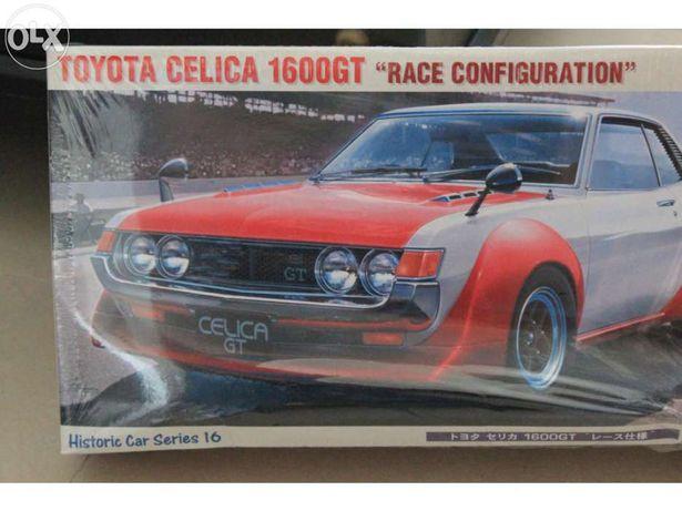 Kit modelismo toyota celica 1600gt – hasegawa race