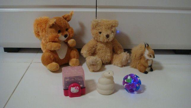 Светящийся шар+подарок-белка, мишка, белка, змея,hallo kitty