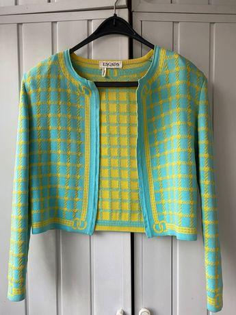 Винтажный женский жакет пиджак Escada Margaretha Ley