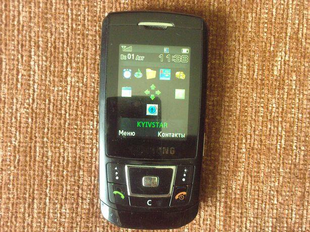 Samsung D 880i Рабочий мобильный телефон