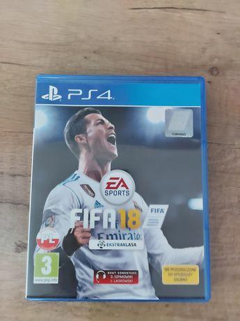 Gra Fifa 18 PS4 pl