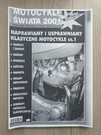Sprzedam gazetę motocykle świata 2001
