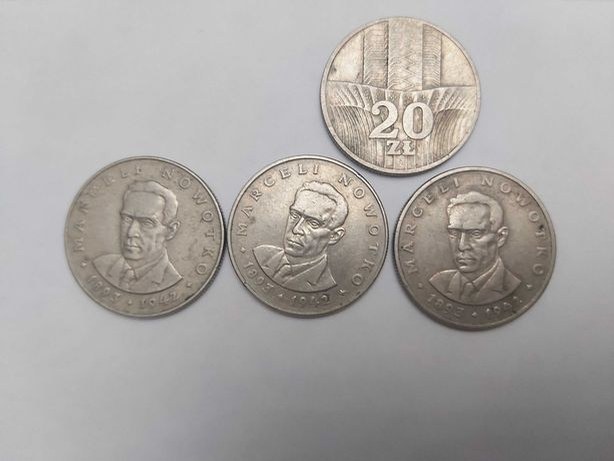 Moneta 20 zł z roku 1976