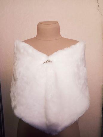Свадебная меховая накидка
